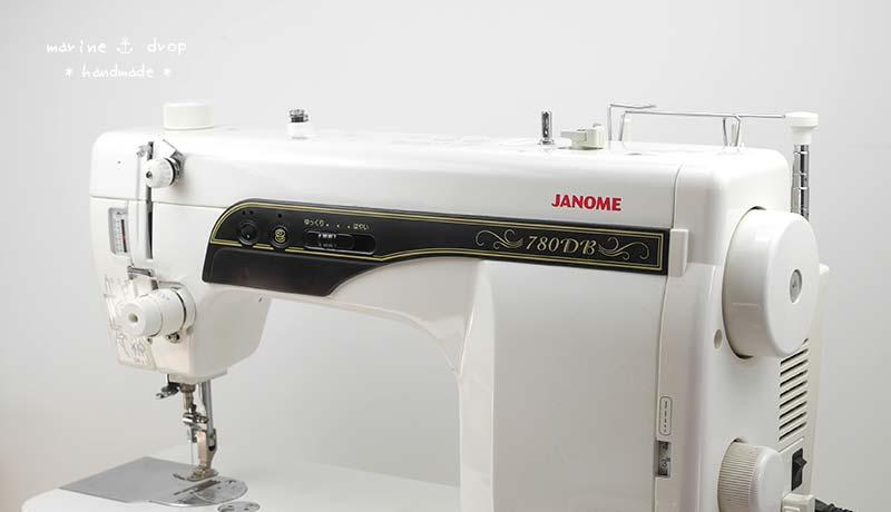 ジャノメミシン 780db