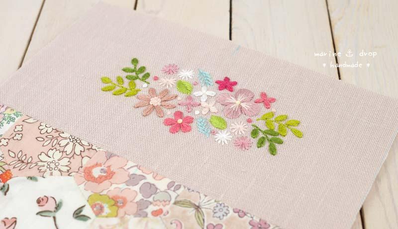 刺繍 パッチワーク